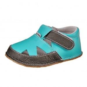 Dětská obuv Pegres 1096   /modré *BF -  První krůčky