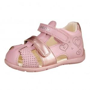 Dětská obuv GEOX B Kaytan  /lt.pink - Boty a dětská obuv