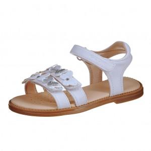 Dětská obuv GEOX J S.Karly /white - Boty a dětská obuv