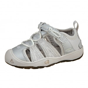 Dětská obuv KEEN Moxie sandal   silver - Boty a dětská obuv