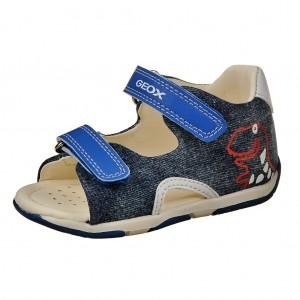 Dětská obuv GEOX Tapuz B.  /avio/royal - Boty a dětská obuv