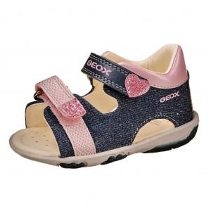 Dětská obuv GEOX Nicely  /avio/pink - Boty a dětská obuv