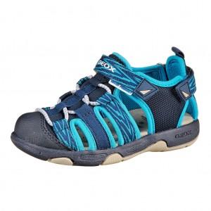 Dětská obuv GEOX B.Sand.Multy  /navy/turquoise - X...SLEVY  SLEVY  SLEVY...X