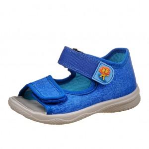 Dětská obuv Domácí sandálky Superfit 2-00294-85 -  První krůčky