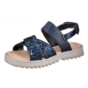 Dětská obuv GEOX J S.Coralie /navy - Boty a dětská obuv