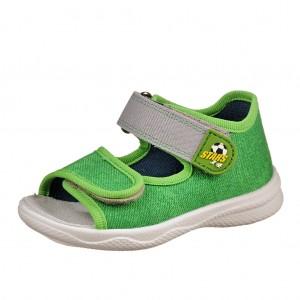 Dětská obuv Domácí sandálky Superfit 2-00294-31 -  První krůčky