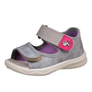 Dětská obuv Domácí sandálky Superfit 2-00294-44 -  První krůčky