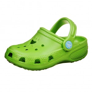 Dětská obuv Coqui   /lime - Boty a dětská obuv