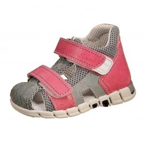 Dětská obuv Sandálky Santé 810/401 /růžovo/šedé -  Sandály