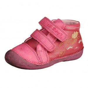 Dětská obuv D.D.Step 015-154B Dark Pink *BF -  První krůčky