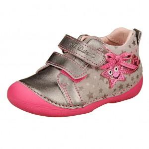 Dětská obuv D.D.Step 015-155B grey   *BF -  První krůčky