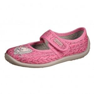 Dětská obuv Domácí obuv Fischer /růžové - Boty a dětská obuv