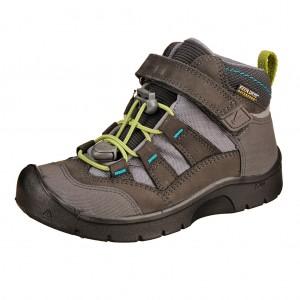 Dětská obuv KEEN Hikeport MID WP  /magnet/greenery -  Celoroční