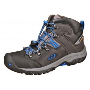 Dětská obuv KEEN Torino MID WP   /black/baleine blue -  Do hor nebo nížin