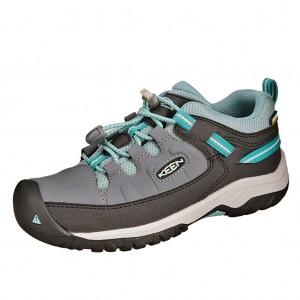 Dětská obuv KEEN Targhee LOW WP  /steel grey/wasabi -  Sportovní