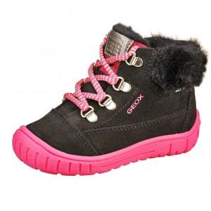 Dětská obuv GEOX B OMAR  /black - Boty a dětská obuv