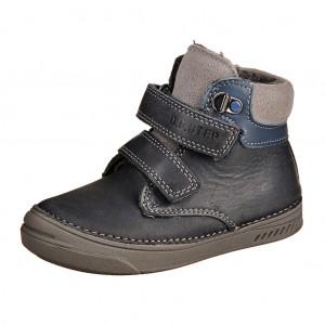 Dětská obuv D.D.Step  040-423BM Bermuda blue -  Zimní