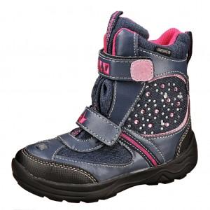 Dětská obuv LICO Jewel V Blinky  /marine/pink - Boty a dětská obuv
