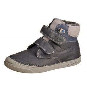 Dětská obuv D.D.Step  040-423BL Bermuda blue -  Zimní