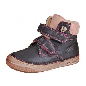 Dětská obuv D.D.Step  040-423CM Royal blue -  Zimní