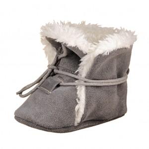Dětská obuv Zimní capáčky - BaBice  Grey  *BF -  Zimní