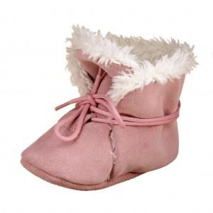 Dětská obuv Zimní capáčky - BaBice  Pink  *BF -  Zimní