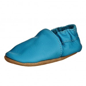 Dětská obuv Capáčky - BaBice Tyrkys  *BF -  První krůčky