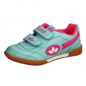 Dětská obuv LICO Bernie V   /tuerkis/pink/weiss -  Sportovní