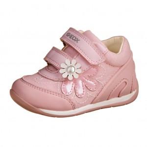 Dětská obuv GEOX B Each  /pink/white -  První krůčky