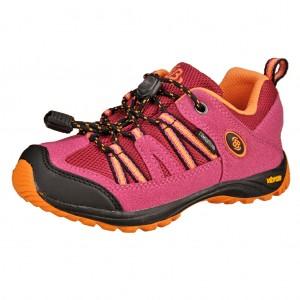 Dětská obuv Brütting Ohio Low  /pink/orange -  Do hor nebo nížin