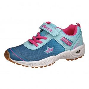 Dětská obuv LICO Barney VS   türkis/marine/pink - Boty a dětská obuv