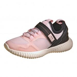 Dětská obuv GEOX J Waviness  lt.rose black - Celoroční 043b086213
