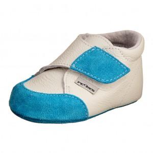 Dětská obuv Capáčky 1091  modré - První krůčky 865478a26e