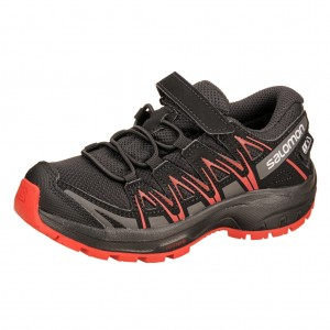 Dětská obuv Salomon XA Pro 3D CSWP K  /black - Boty a dětská obuv