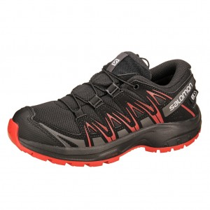 Dětská obuv Salomon XA Pro 3D CSWP J  /black - Boty a dětská obuv