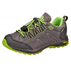 Dětská obuv Brütting Mount Bona Low /anthrazit/schwarz/lemon -  Do hor nebo nížin