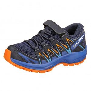 Dětská obuv Salomon XA Pro 3D K  /mediavel blue - Boty a dětská obuv
