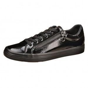 Dětská obuv s'Oliver black patent - Boty a dětská obuv