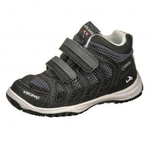 Dětská obuv VIKING Cascade II MID GTX   /black/grey - Boty a dětská obuv