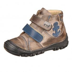 Dětská obuv KTR 169/1   /hnědá - Boty a dětská obuv