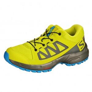 Dětská obuv Salomon XA Elevate J  /acid lime - Boty a dětská obuv