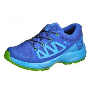 Dětská obuv Salomon XA Elevate CSWP J  /blue - Boty a dětská obuv