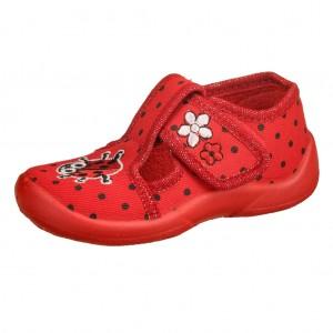 Dětská obuv Domácí obuv Fischer rot - Boty a dětská obuv