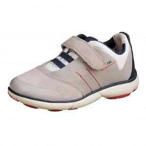 Dětská obuv GEOX J Nebula B   /grey/navy -  Celoroční