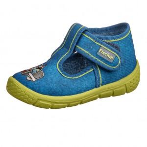 Dětská obuv Domácí obuv Fischer /jeans - Boty a dětská obuv