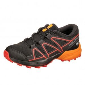 Dětská obuv Salomon Speedcross CSWP J  black - Boty a dětská obuv 6dc748efc52