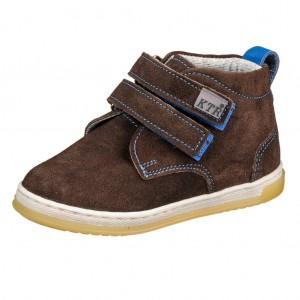 Dětská obuv KTR 164/2 tm. hnědá - Boty a dětská obuv
