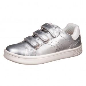 Dětská obuv GEOX  J DJrock G  silver - Boty a dětská obuv
