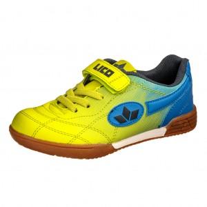Dětská obuv LICO Bernie VS   lemon/blau - Boty a dětská obuv