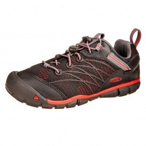 Dětská obuv KEEN Chandler   /raven/fiery red -  Sportovní